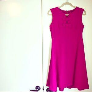 Hot Pink Kate Spade Cocktail Dress